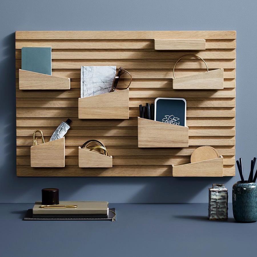 un bureau bien rang et d cor pour la rentr e d co id es. Black Bedroom Furniture Sets. Home Design Ideas