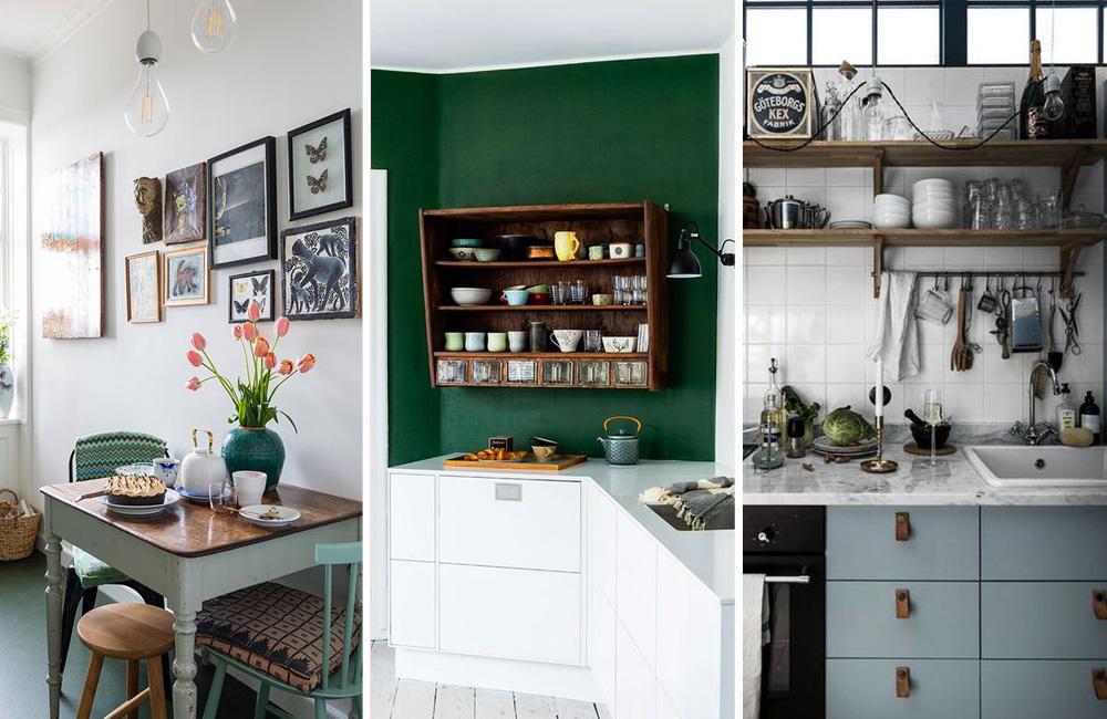 Des petites cuisines au charme particulier - Déco Idées