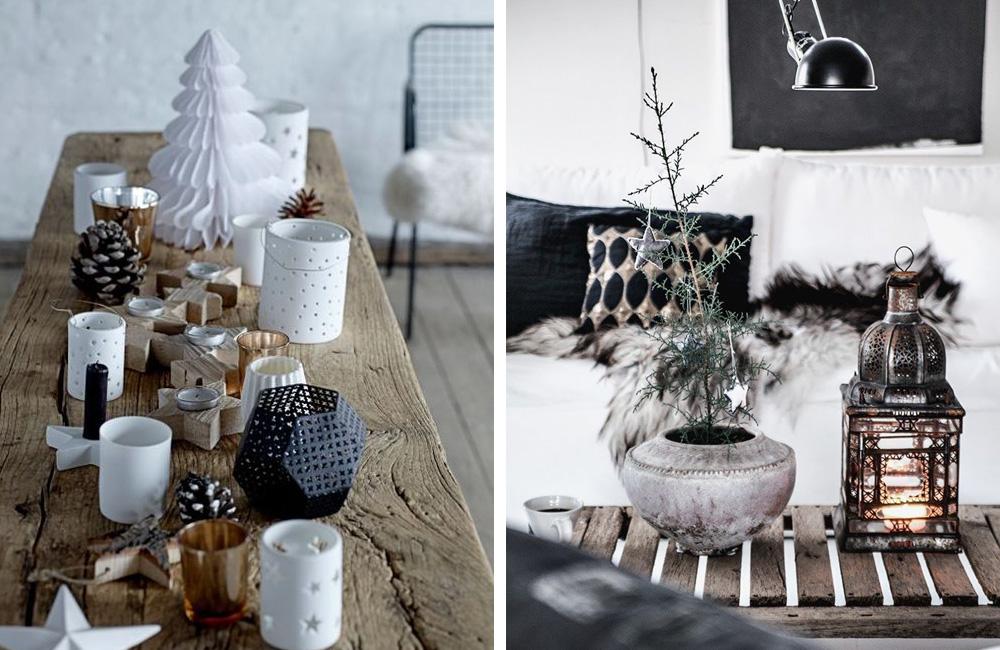Pinterest: une déco de Noël à la scandinave