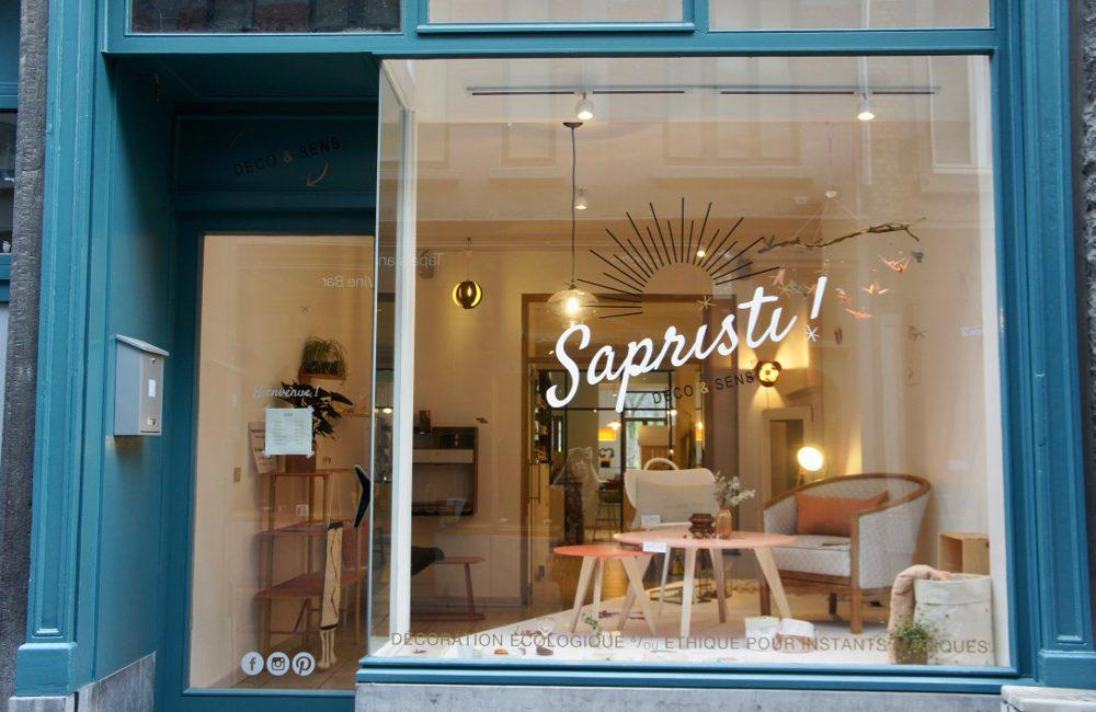 Sapristi! : la nouvelle boutique éco-responsable à Namur