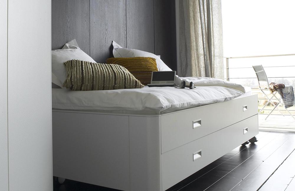 Un lit pour dormir, un lit pour ranger