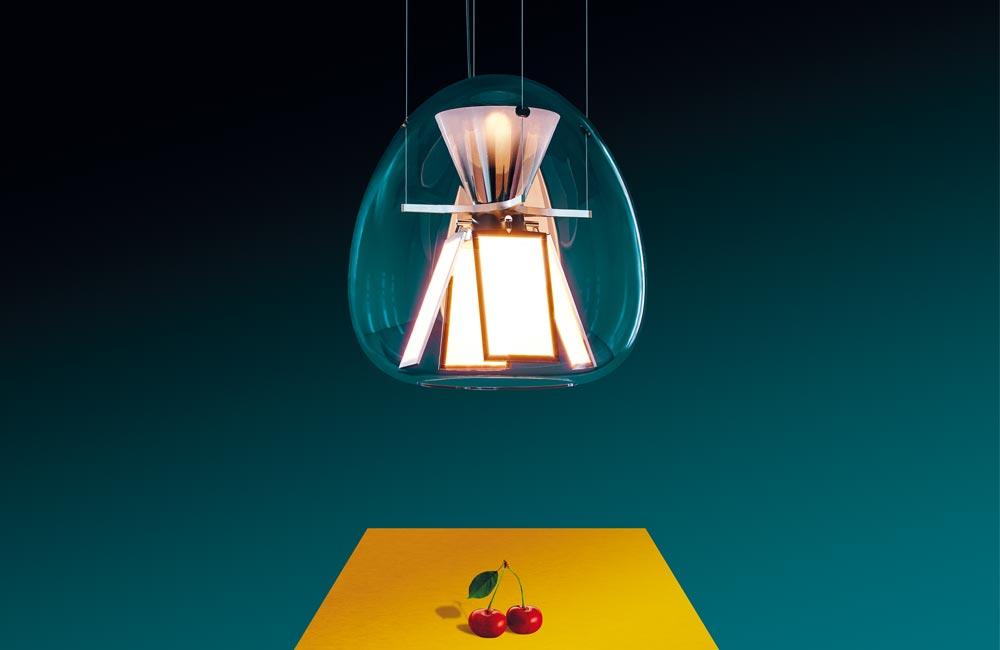 Les luminaires Artemide sous l'objectif de Pierpaolo Ferrari
