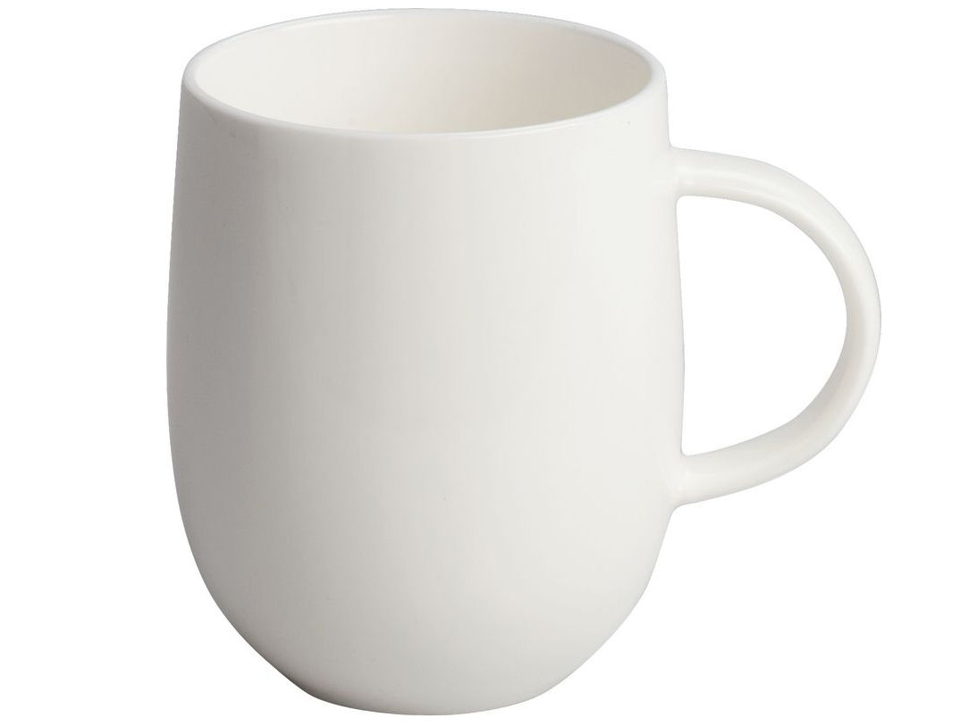 « All-Time », mug en porcelaine Bone Chine, A di Alessi. 46 €.