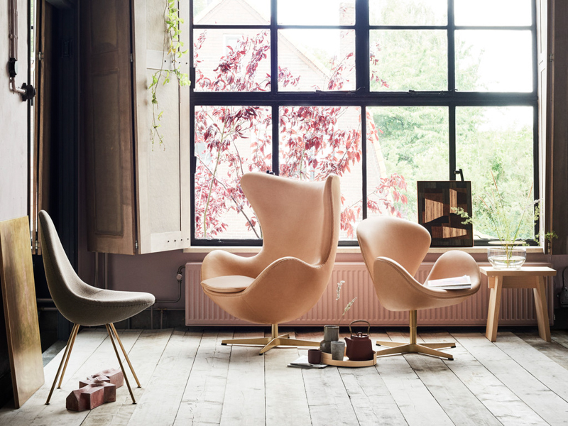 Egg Chair Jacobsen 60 anniversary