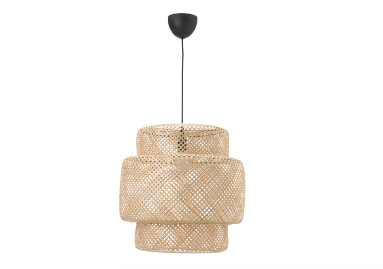Suspension en bambou Ikea