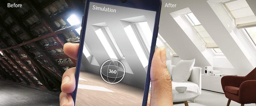 MyDaylight : l'application de VELUX qui simule la lumière du jour