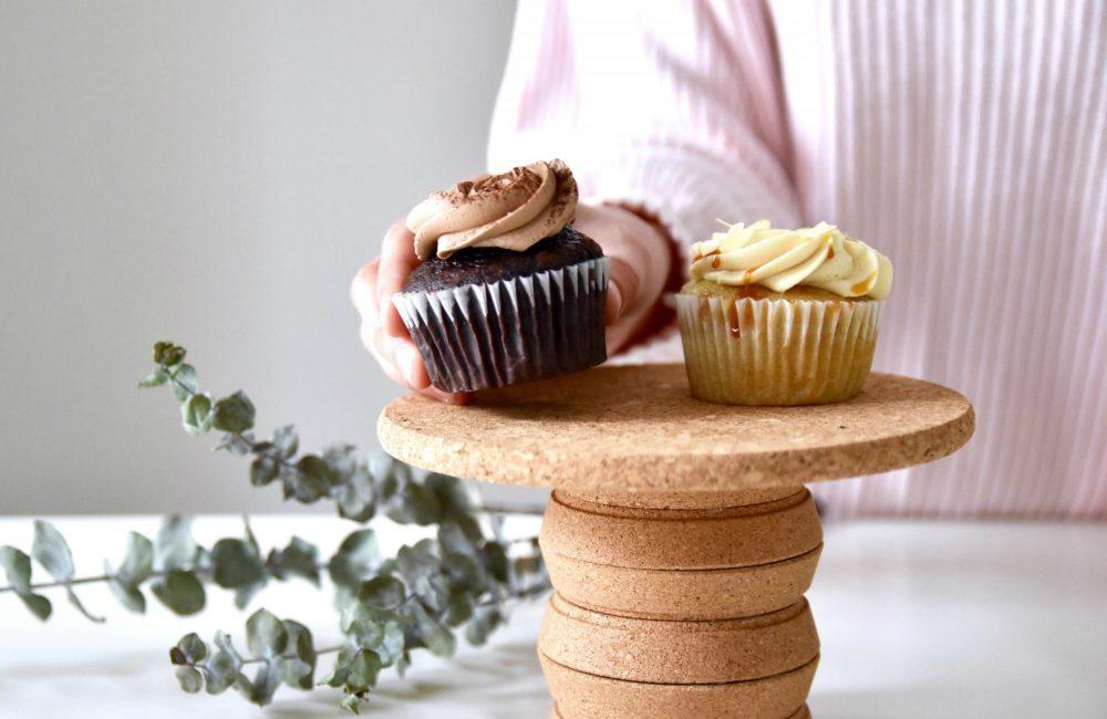 DIY : un plateau à desserts en liège