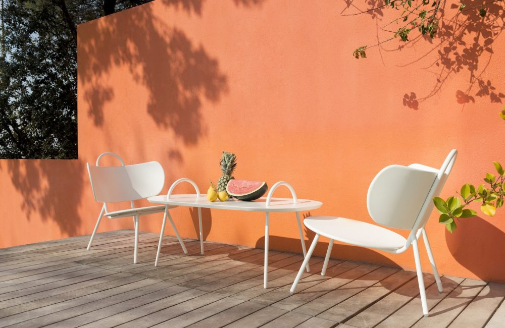 En terrasse : le fauteuil Swim de Margaux Keller pour Bibelo