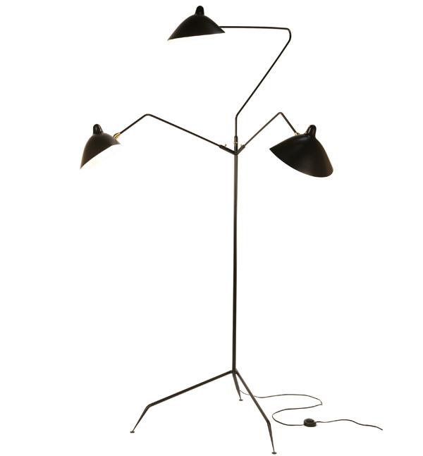 Serge Mouille Les formes noires