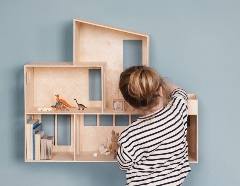 10 maisons de poupée pour les parents amoureux de design