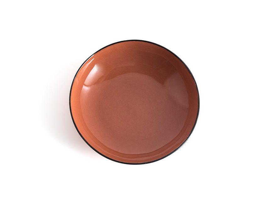 assiette terracotta ampm