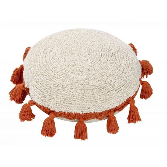 Coussin terracotta 'Circle'