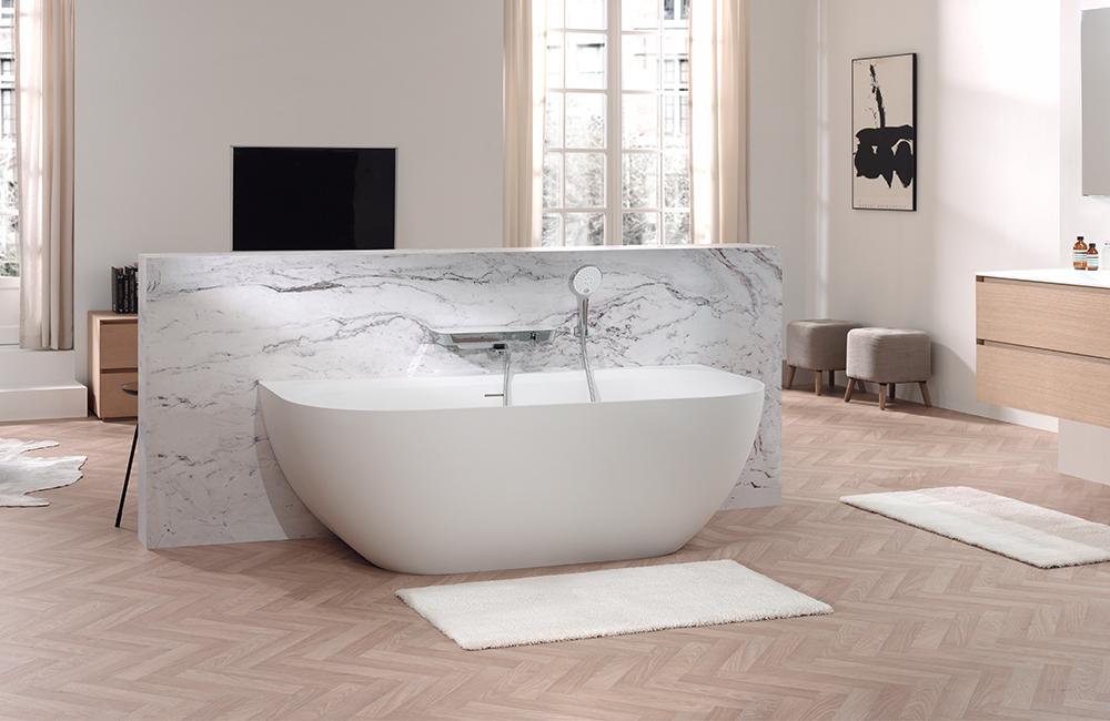 Solid Surface : la nouvelle matière tendance dans la salle de bains ...