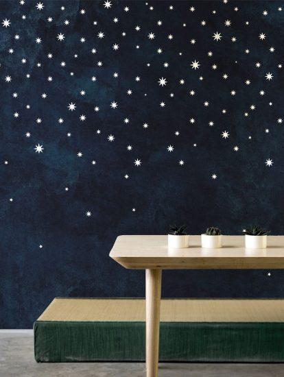 Papier-peint 'Nuit étoilée