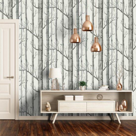 Papier-peint 'Woods'