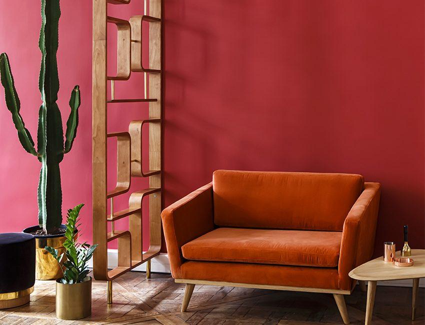 canape salon terracotta cactus claustra