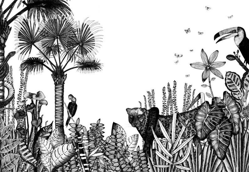 Papier-peint 'The Wild