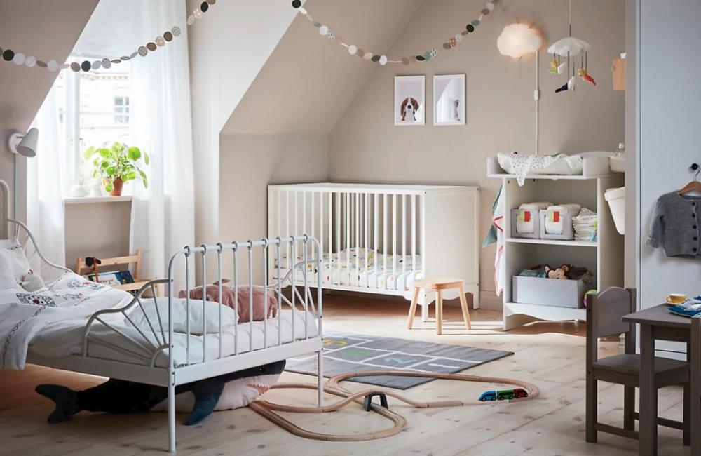 comment am nager une chambre pour deux enfants d co id es. Black Bedroom Furniture Sets. Home Design Ideas