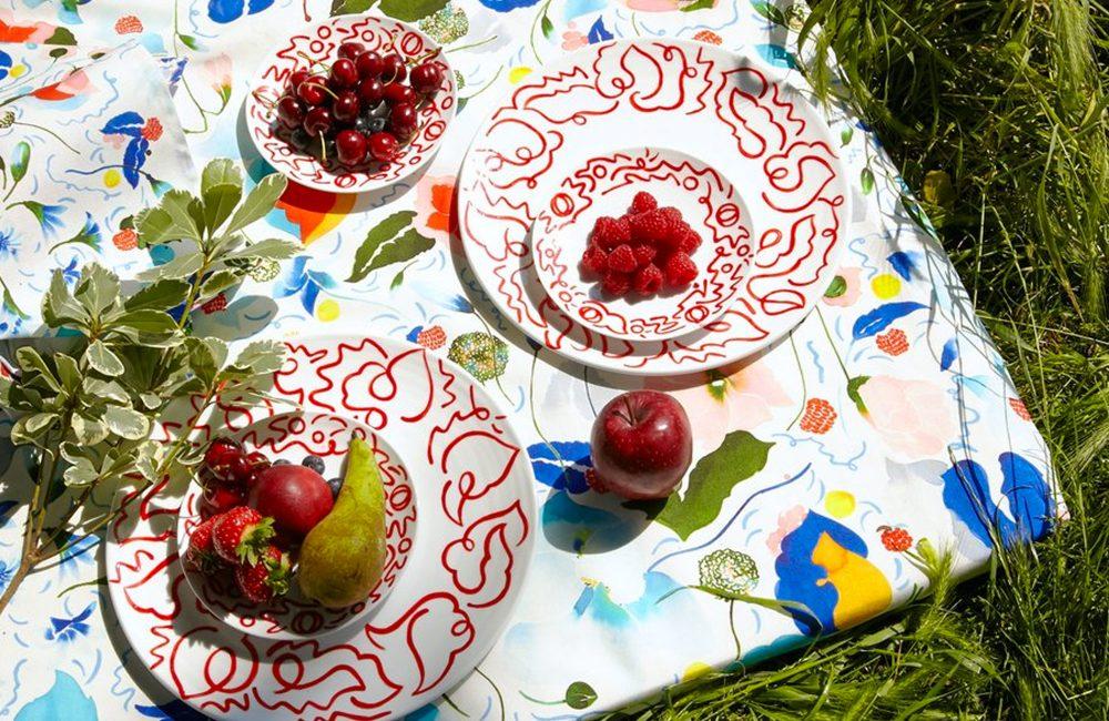 Tissu : le jardin secret de Claire de Quénetain