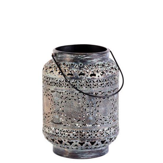 Lanterne 'Marrakech' en métal