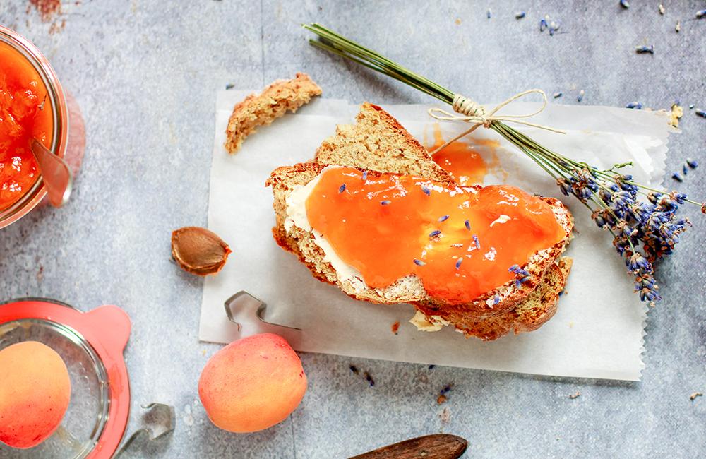 Abricot & lavande : la confiture de l'été