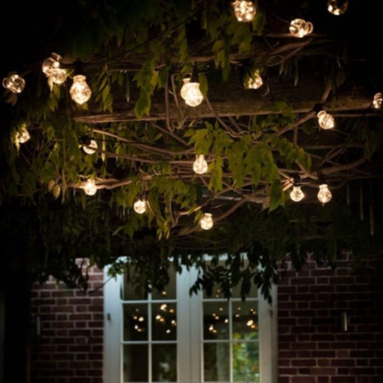 Guirlande lumineuse 'Guinguette' 20 ampoules