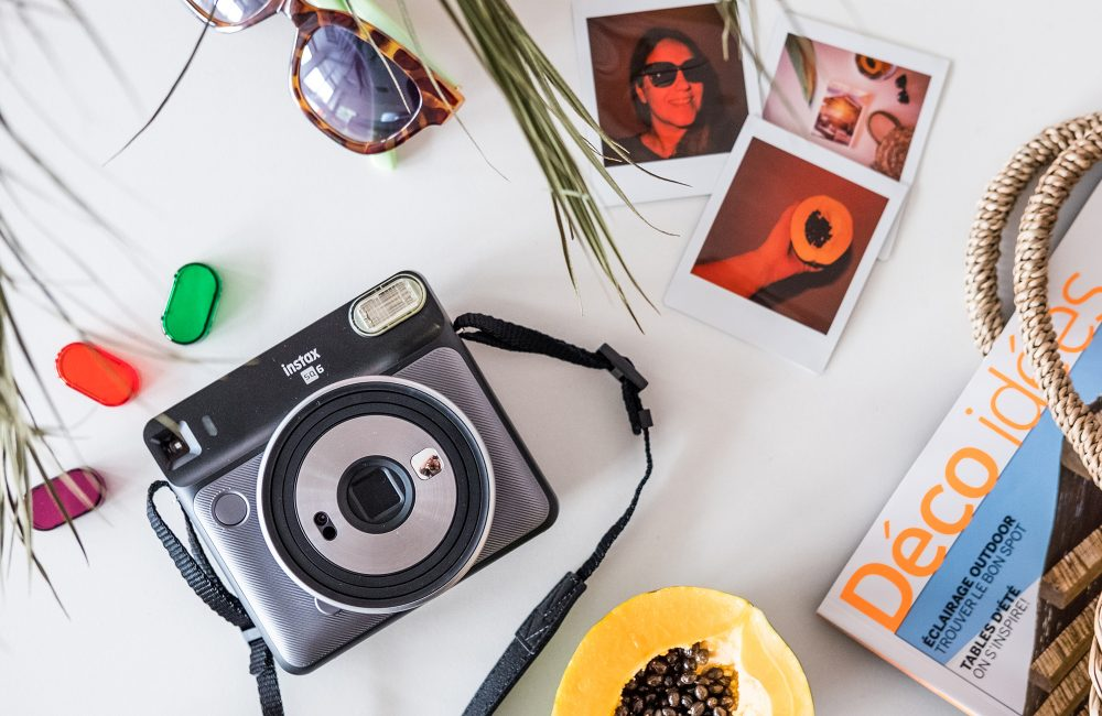 Des clichés au look vintage avec le nouvel Instax SQ6