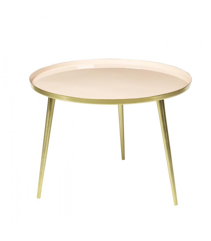 Table 'Jelva' nude et or