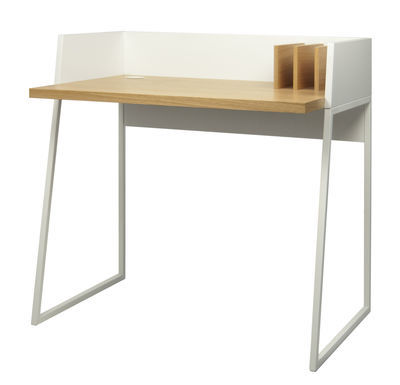 Bureau 'Working' en MDF et métal laqué (L 90 x P 60 x H 88 cm), Pop up home, 324€