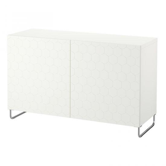 Combinaison rangement 'BESTA' (120 x 40 x 74 cm), IKEA, 185€