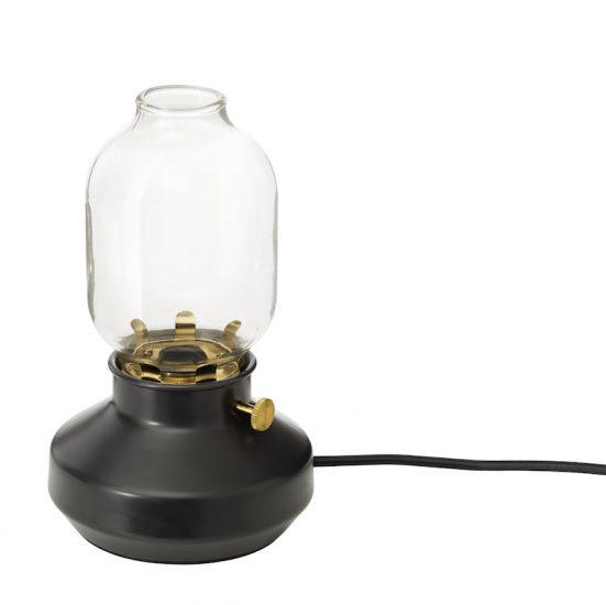 Lampe de table 'TÄRNABY' en acier et verre (H 25 x D 15 cm), 19,95€