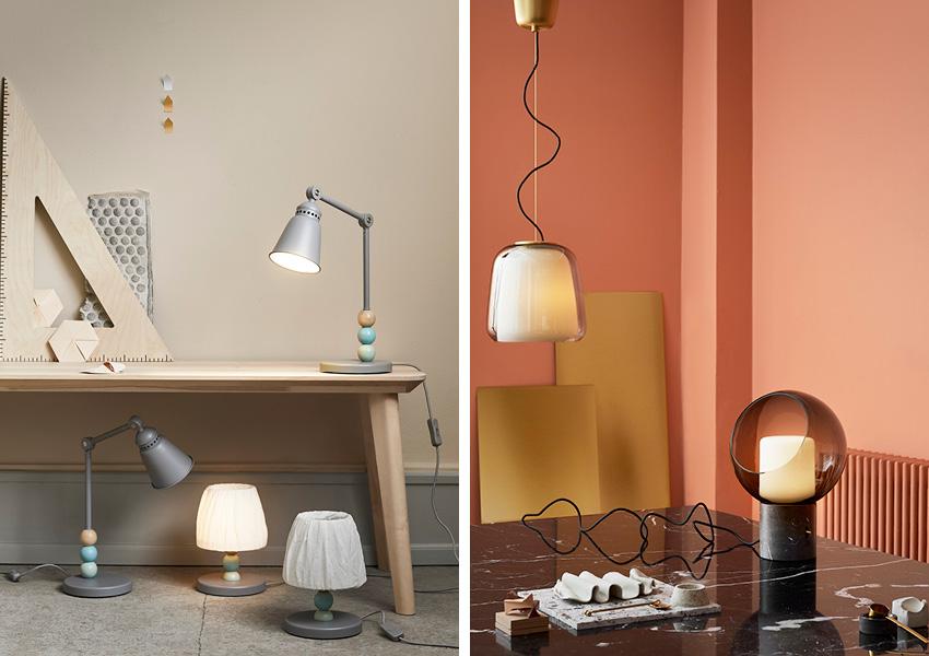 Lampe de bureau vintage ikea: lampe diy papier marvelous racparer