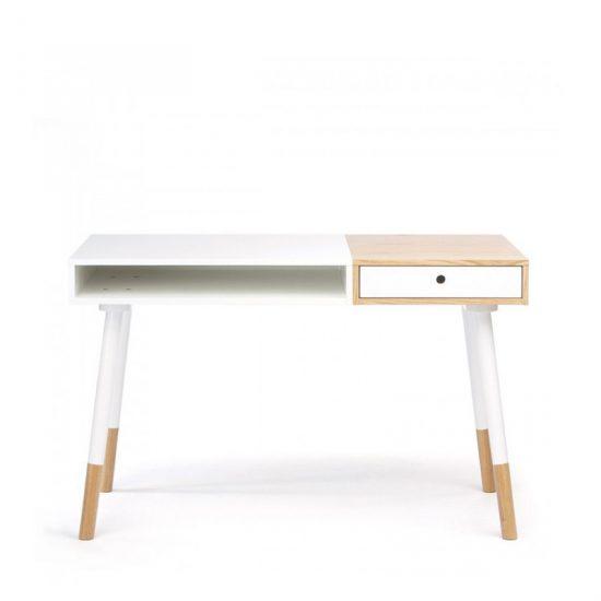 Bureau design en MDF (H 75 x l 120 x P 60 cm), Sonnenblick, 389€