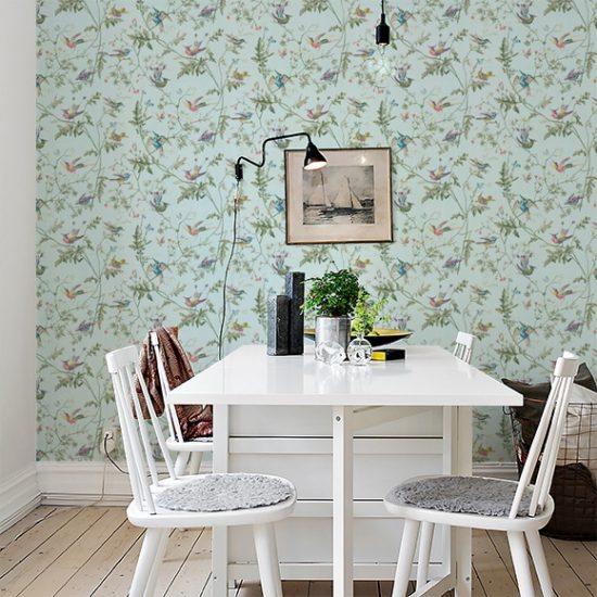 Papier peint 'Hummingbirds' (rouleau : L 10 m x l 52 cm), Cole & Son, 142€