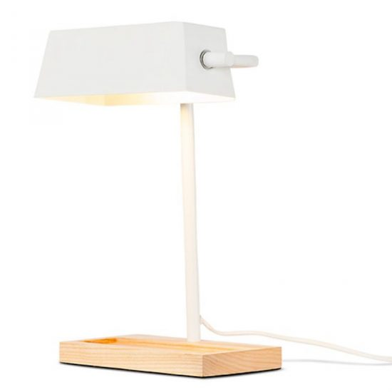 Lampe de bureau 'Cambridge' en acier et bois (L 30 x H 40 cm), It's about RoMi, 139€