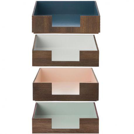 Range-courrier en bois (H 6 x l 24 x L 33 cm), Ferm Living, 42€/pièce