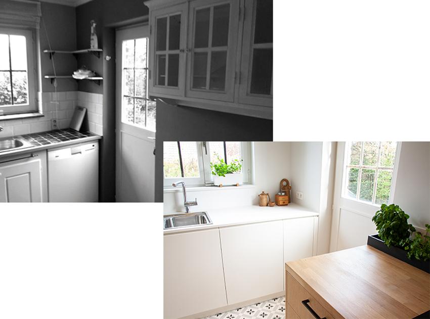 Avant / Après : une cuisine ouverte, lumineuse et conviviale - Déco on