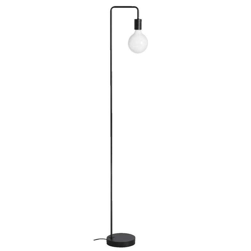 Lampadaire 'Praag' en métal noir mat (H 145 cm), Leen Bakker, 40,49€