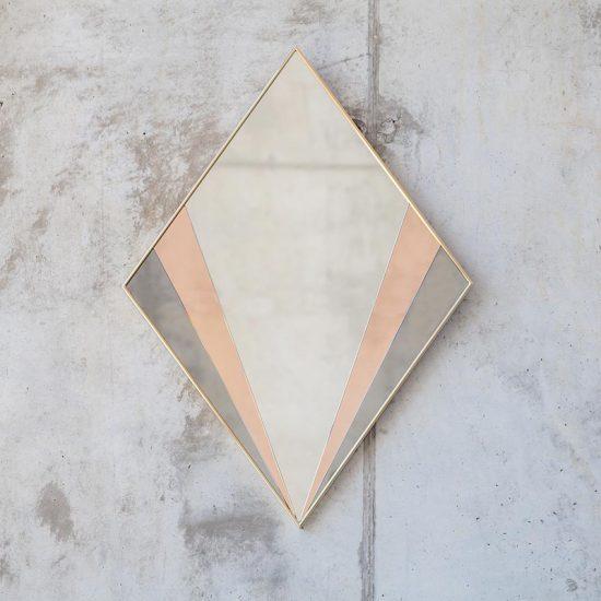 Miroir 'Sommet medium' (125 x 90 cm), Versant Edition, 2275€