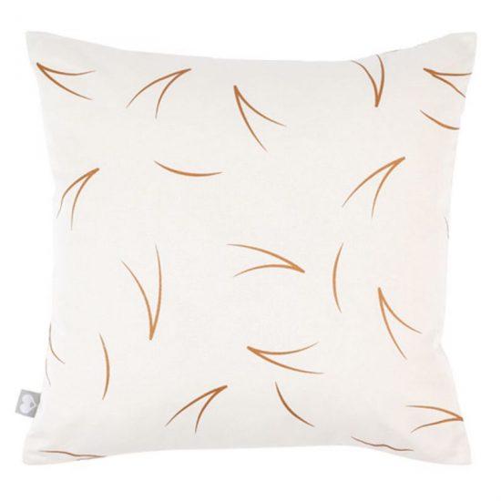 Coussin carré en coton réversible imprimé 'Pine Needle' (45 x 45 cm), RoomBlush, 42,90€