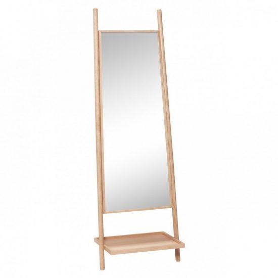 Miroir sur pied en bois naturel (184 x 61 cm), Hübsch, 287,50€