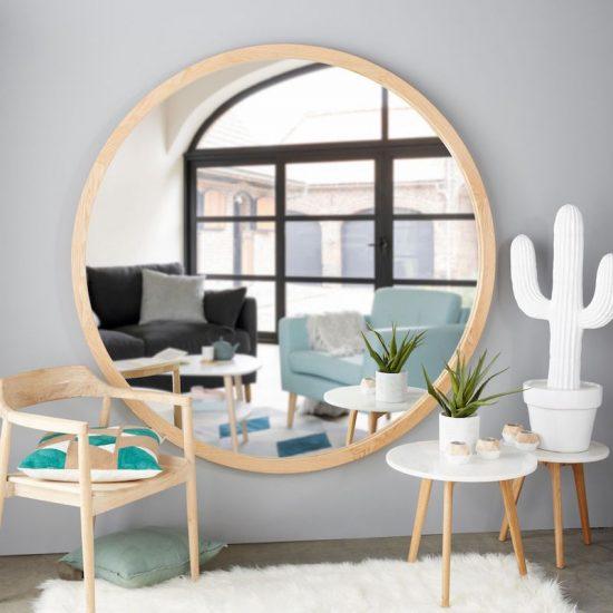 25 Grands Miroirs Pour Gagner En Luminosité Déco Idées