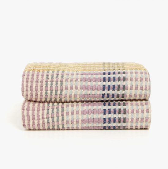 Couverture multicolore en laine (130 x 170 cm), Zara Home, 69,99€