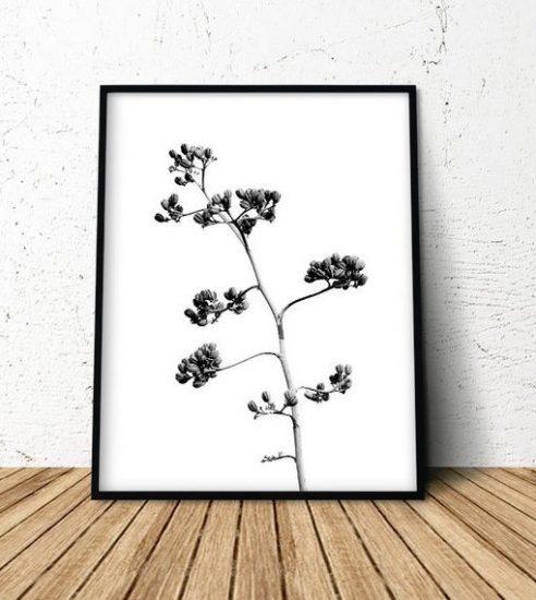 Affiche botanique à imprimer, ChipiArtPrints, 5,74€