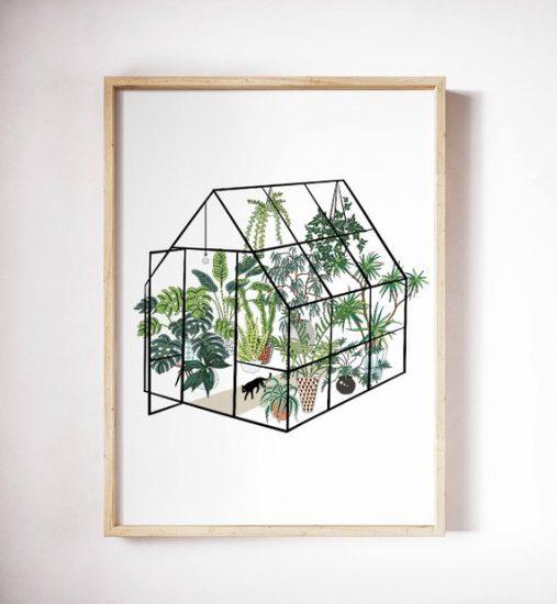 Affiche botanique à imprimer, AnyukaArt, 5,41€