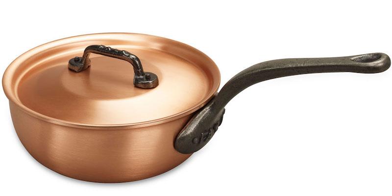 Sauteuse bombée avec couvercle (D 20 x H 7,6 cm), Falk, 250,20 €