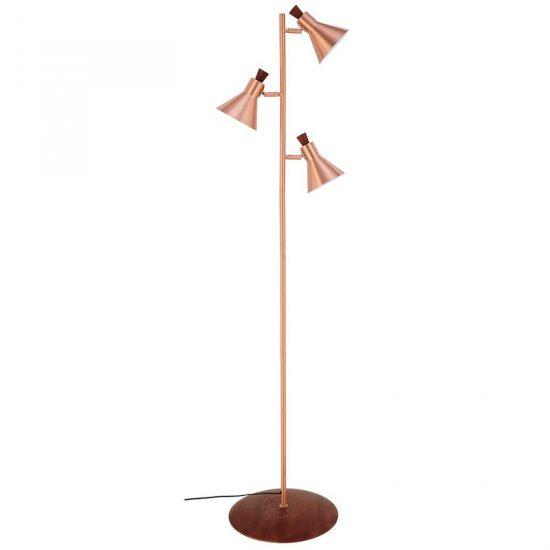 Lampadaire 'Jacobs' cuivré (H 173 x L 39 cm), Maisons du Monde, 150€