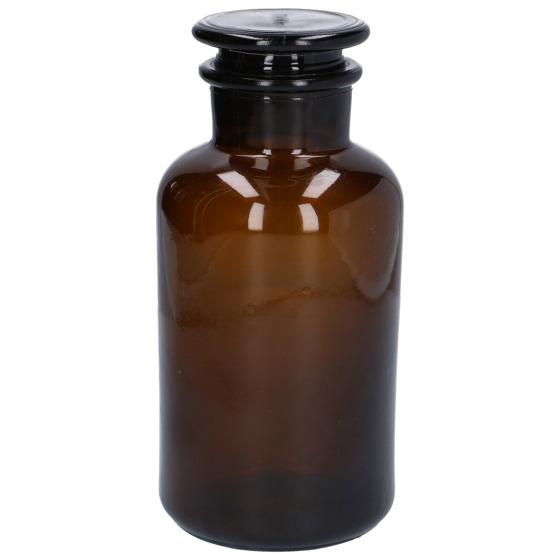 Pot à pharmacie en verre brun (10 x 21,5 cm), Dille & Kamille, 10,95€