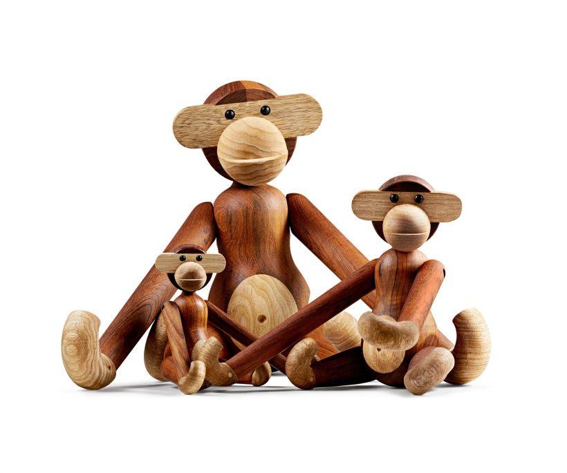Le singe de Kay Bojesen se décline désormais en format mini