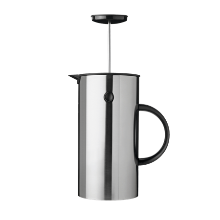 Cafetière à piston 'EM Press' en acier (D 14 x H 22 cm), Stelton, 124,95€